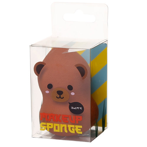 Cutiemals Makeup Applicator Sponge - Bear Novelty Gift