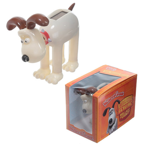 Collectable Licensed Solar Powered Pal - Gromit Novelty Gift