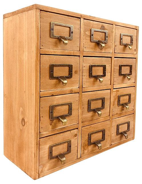 Storage Drawers (12 drawers) 35 x 15 x 34cm Shipping furniture UK