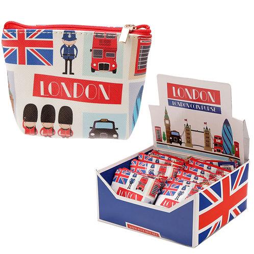 Handy PVC Make Up Bag Purse - London Icons Novelty Gift