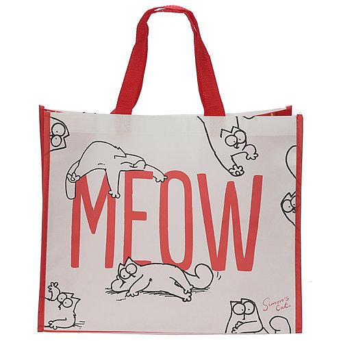 Simon's Cat Meow Design Shopping Bag Novelty Gift