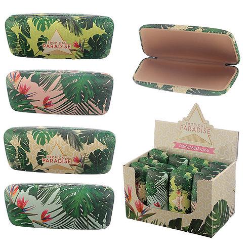 Fun Tropical Plant design Sunglasses Case Novelty Gift