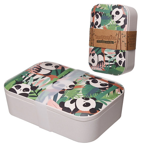 Bamboo Composite Pandarama Lunch Box Novelty Gift