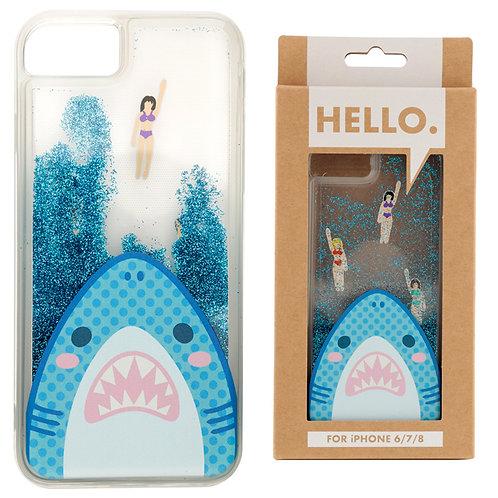 iPhone 6/7/8 Phone Case - Shark Jaws Design Novelty Gift