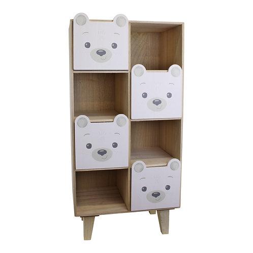 Baby Bear Four Drawer Storage Unit Shipping furniture UK
