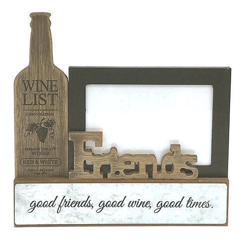 Wine List 12 X 8 Cm Photo Frame - Friends Shipping furniture UK