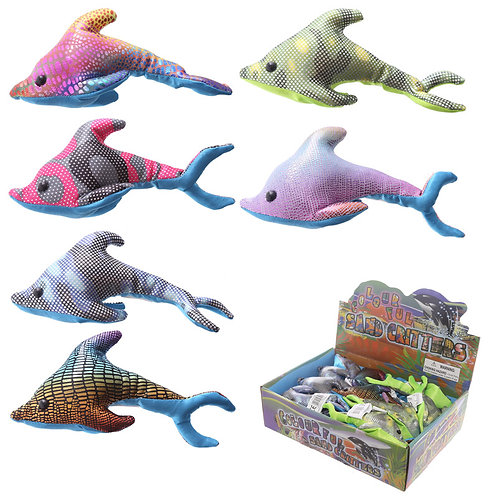 Cute Collectable Dolphin Design Sand Animal Novelty Gift