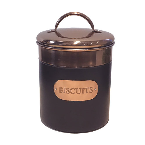 Black And Copper Biscuit Tin Shipping furniture UK