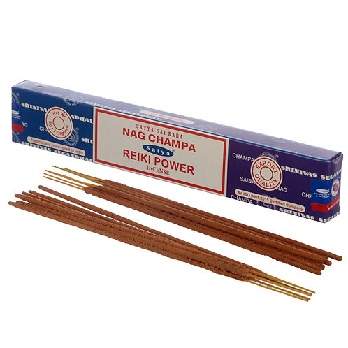 Satya Incense Sticks - Nag Champa & Reiki Power Novelty Gift