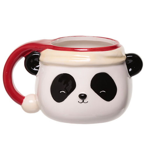 Pandarama Christmas Shaped Ceramic Mug Novelty Gift