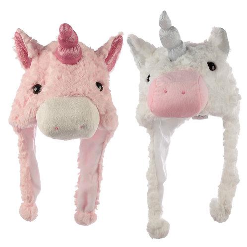 Fun Plush Unicorn Hat (One Size) Novelty Gift