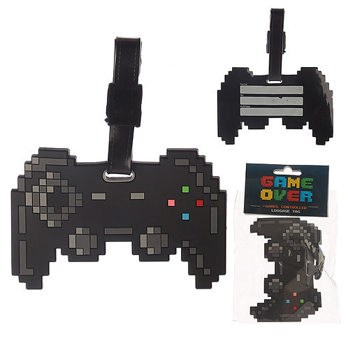 Novelty PVC Luggage Tag - Game Controller Novelty Gift
