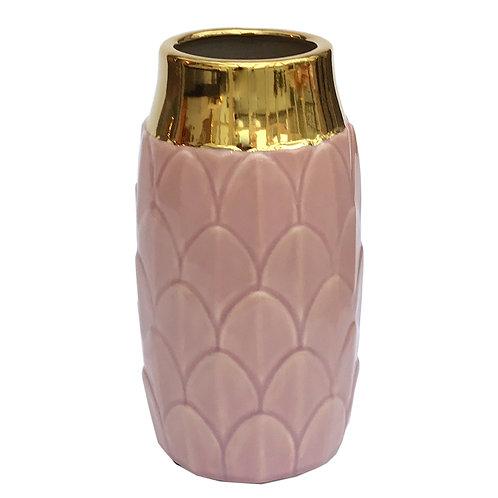 Art Deco Vase – Pink Shipping furniture UK