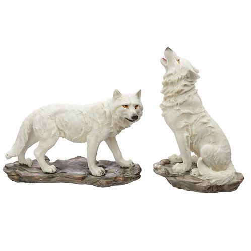 White Wolf Figurine [ONE ONLY] Novelty Gift