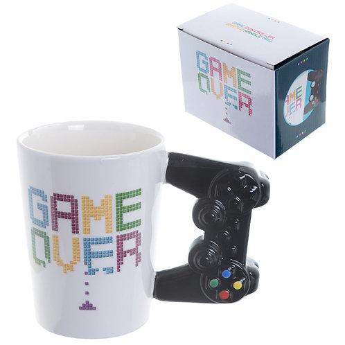 Fun Game Controller Shaped Handle Ceramic Mug Novelty Gift