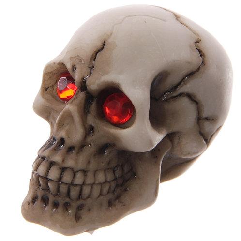Novelty Gift  Red Eyed Skull Decoration