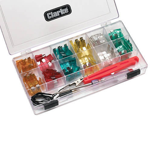 Clarke 93pce Circuit Tester and Car Fuse Kit - CHT570 | DIY Bargains