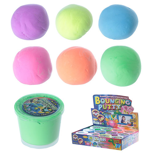 Novelty Gift Fun Kids Bouncing Putty