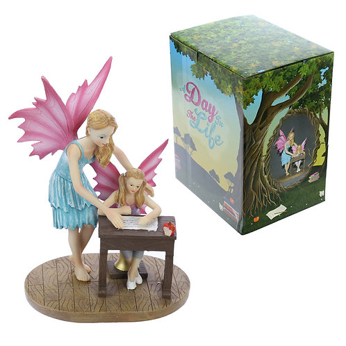 Decorative School Time Collectable Fairy Figurine Novelty Gift