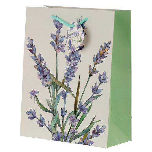 Lavender Fields Large Gift Bag Novelty Gift