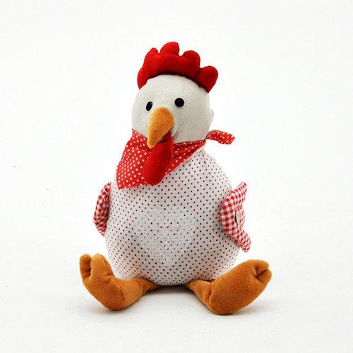 Fabric Chicken Doorstop 30cm Shipping furniture UK