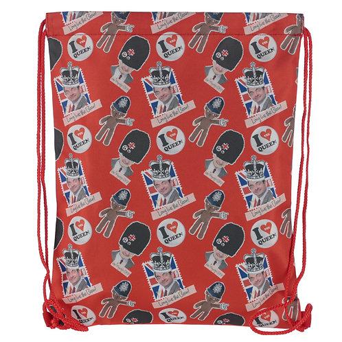 Handy Drawstring Bag - Mr Bean Long Live the Bean Novelty Gift
