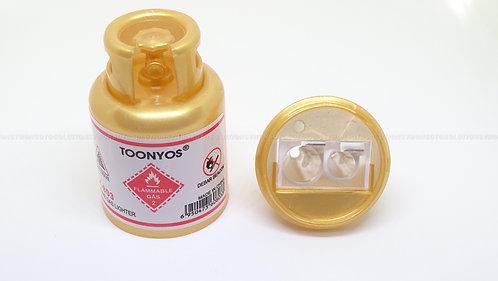 School Accessories Gas Tank Sharpener (Gold)