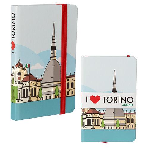 Collectable Hardback Notebook - I Heart Torino Novelty Gift
