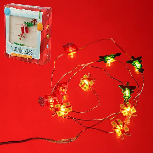 Novelty Gift Decorative LED Christmas Fairy Lights - Presents & Tree