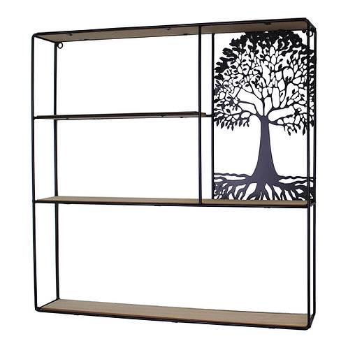 Tree Of Life Shelving Unit 50x50cm. Shipping furniture UK
