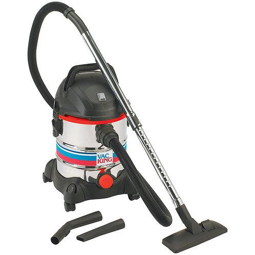 Vac King CVAC20SS Wet & Dry Vacuum Cleaner (230V)   DIY Bargains