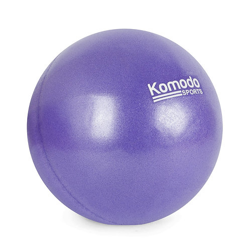25cm Exercise Ball - Purple   Home Essentials UK