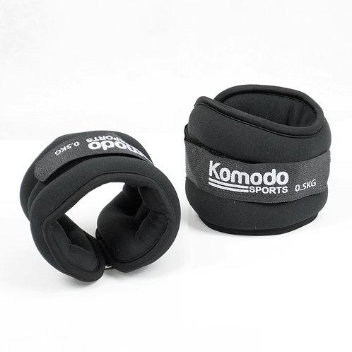 Komodo Neoprene Ankle Weights - 2kg | Home Essentials UK