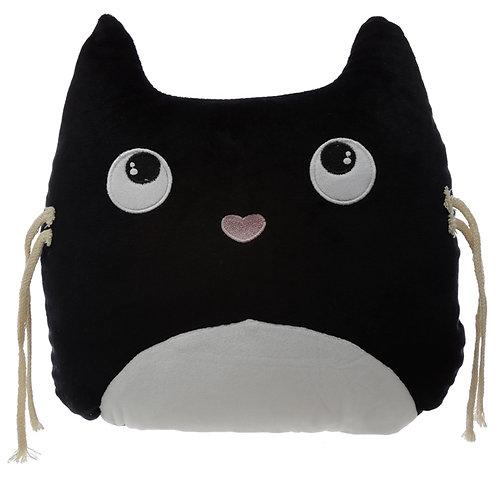 Plush Feline Fine Cat Cushion Novelty Gift
