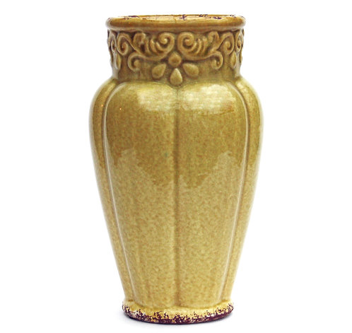 Yellow Nouveau Vase Shipping furniture UK