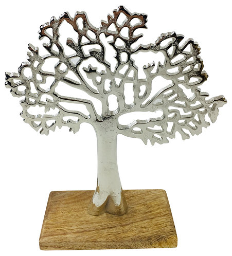 Silver Tree Ornament Shipping furniture UK