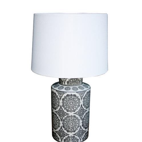 Black Mandala Lamp 50.8cm Shipping furniture UK