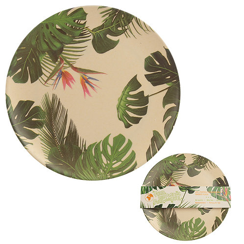 Bamboo Composite Cheese Plant Plate Novelty Gift