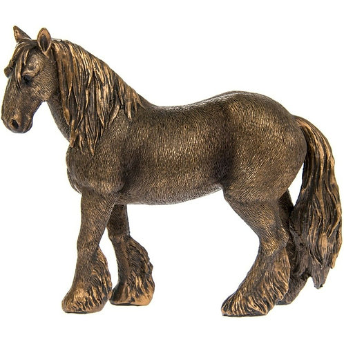 Reflections Bronzed Shire Horse Shipping furniture UK
