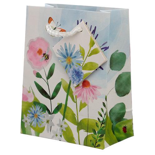 Botanical Gardens Design Small Gift Bag Novelty Gift