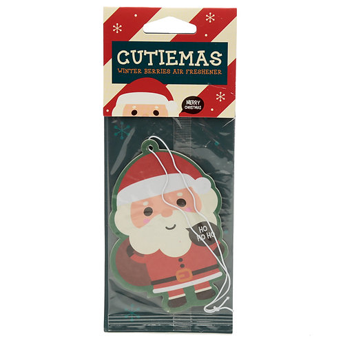Christmas Cutiemals Santa Winter Berries Scented Air freshener [2] Novelty Gift