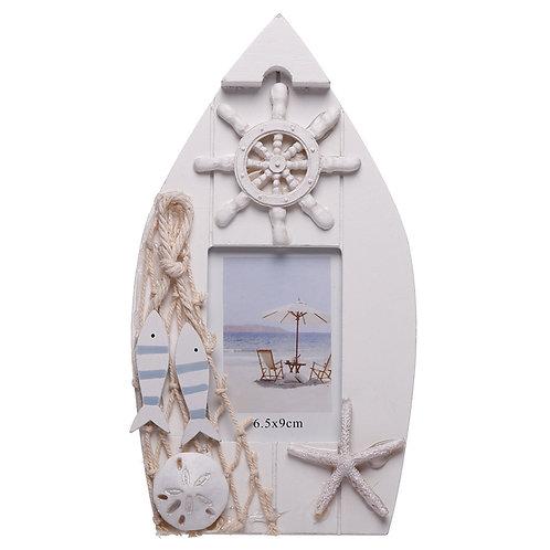 Boat Shaped Nautical Photo Frame Novelty Gift
