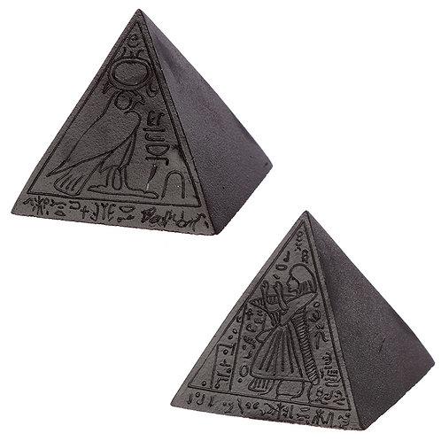 Decorative Black Egyptian Pyramid Ornament Novelty Gift