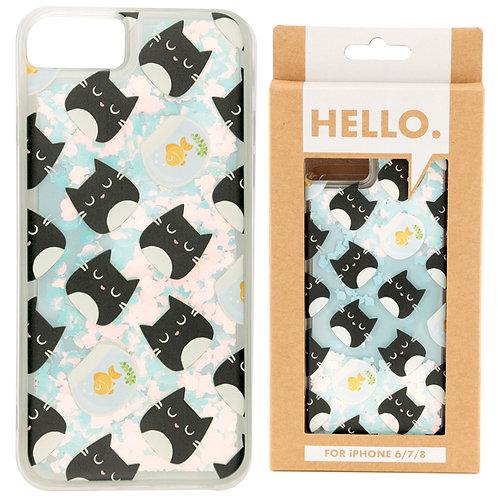 iPhone 6/7/8 Phone Case - Feline Fine Design Novelty Gift