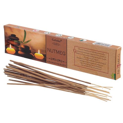 Goloka Incense Sticks - Nutmeg Novelty Gift