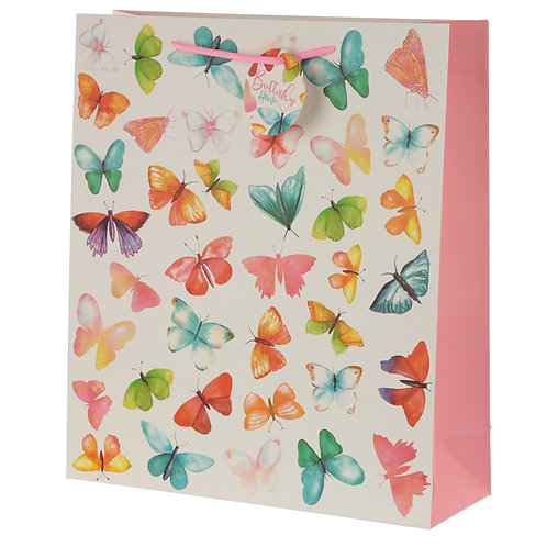 Butterfly House Extra Large Gift Bag Novelty Gift