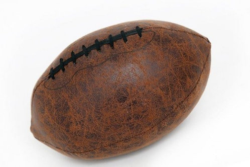 Faux Leather Rugby Ball Doorstop Shipping furniture UK