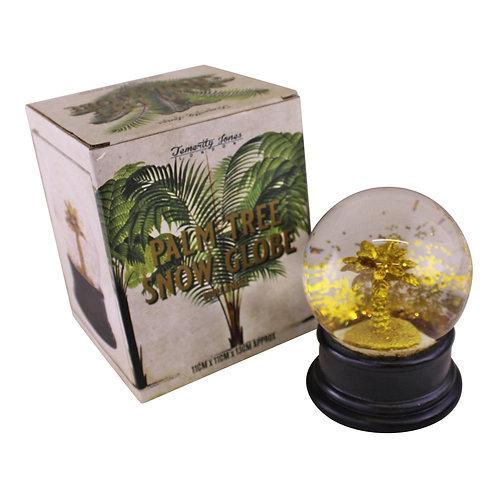 Gold Palm Tree Snow Globe Shipping furniture UK