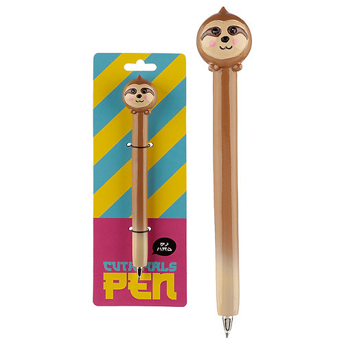 Cute Sloth  Pen Novelty Gift [Pack of 2]