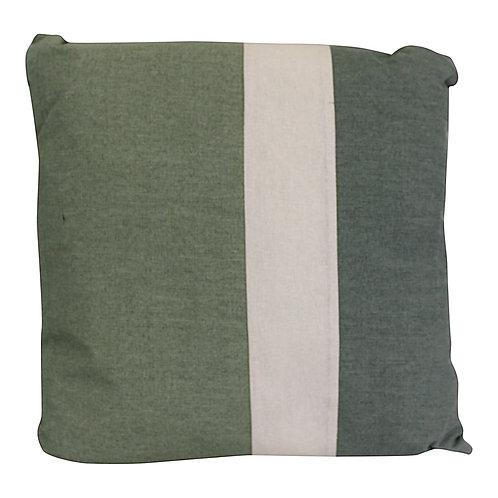3 Panel Green Square Scatter Cushion, Eucalyptus Range Shipping furniture UK